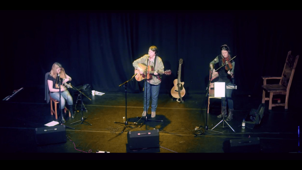 Onstage at Tradfest 15