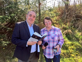 Alex Salmond and Frieda Morrison
