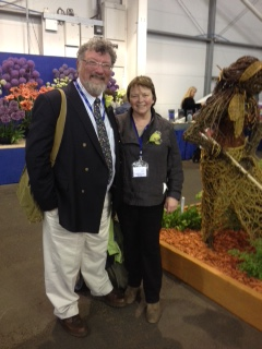 Frieda and David at Gardening Scotland 2015